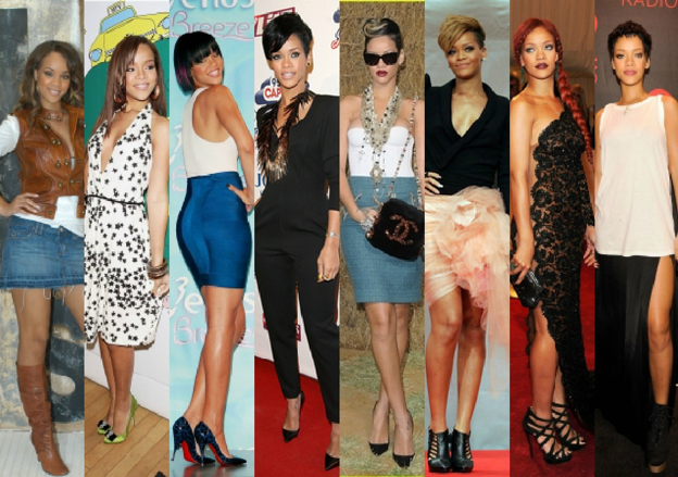 Rhianna fashion muse, icon, inspiration
