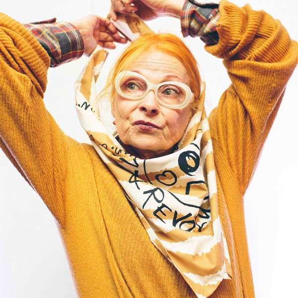 Vivienne Westwood Celebrates 74th Birthday