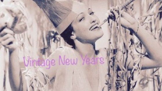 New Years Eve done Vintage