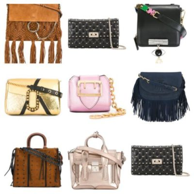 TRENDS FOR SPRING 2017; CHAPTER 5 HANDBAGS