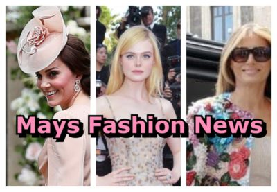 MAYS FASHION NEWS : I'LL TELL YOU WHATS UP