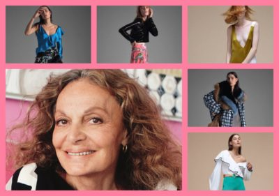 DIANE von FURSTENBERG ; DESIGNER AND FASHION ICON