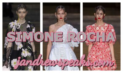 SIMONE ROCHA; SPOTLIGHT ON MY FAVORITE COLLECTIONS THIS YEAR