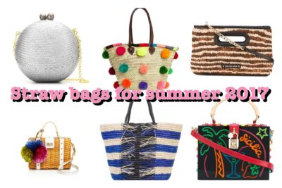 STRAW BAGS; HOW TO MAKE A  SPLASH ON THE BEACH AND THE BOARDROOM