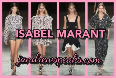 ISABEL MARANT : MY FAVORITE COLLECTIONS S/S 2017