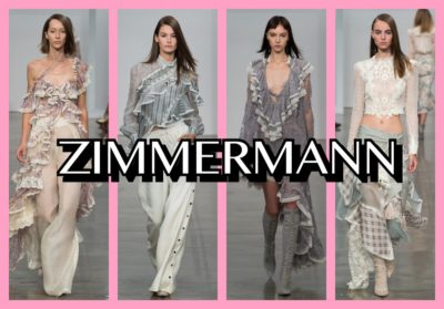 ZIMMERMANN : MY FAVORITE COLLECTIONS S/S 2017