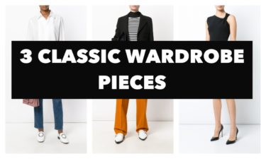 3 CLASSIC WARDROBE PIECES AND HOW TO CARE FOR THEM
