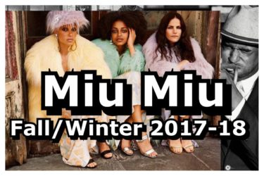 MIU MIU IS FABULOUS WITH FAKE FUR AND FEARLESS FASHION